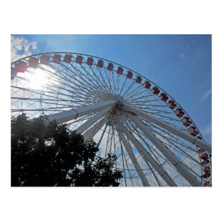 Navy Pier Ferris Wheel Post Card