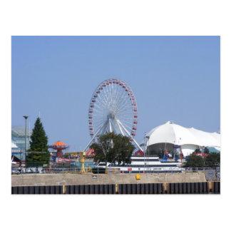 Navy Pier Ferris Wheel Postcards