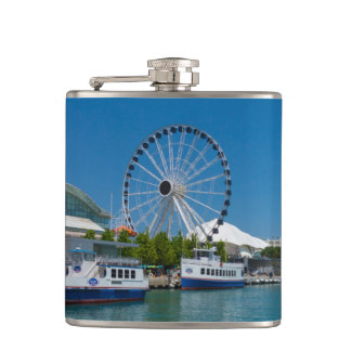 Navy Pier Hip Flask