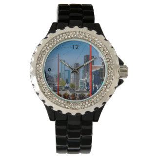 Navy Pier Lines Wrist Watch
