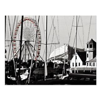 Navy Pier's Ferris Wheel Post Card