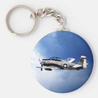 Navy Plane Keychain