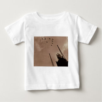 Navy Planes Fly Over Park Central Hotel WWII Baby T-Shirt