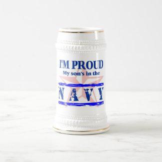 Navy proud - son beer stein