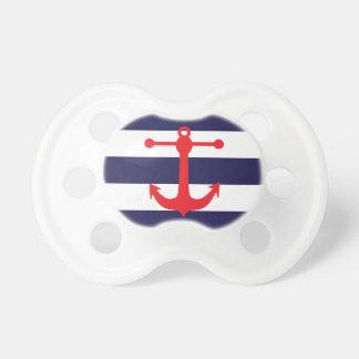 Navy & Red Nautical Pattern Dummy