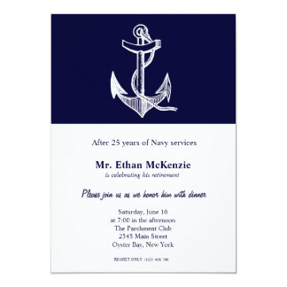 Navy Retirement Card