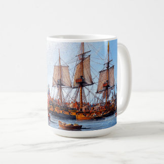 Navy Sailboat Frigate Alfred Boston Ocean Mug