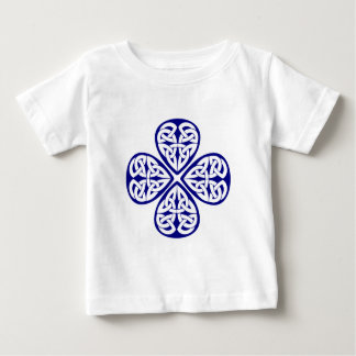 navy shamrock celtic knot t shirts