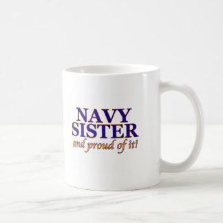 Navy Sister and Proud of It Mug