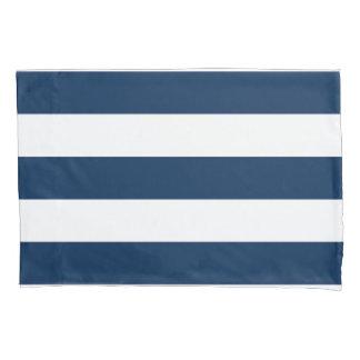 Navy Stripe Pillowcase