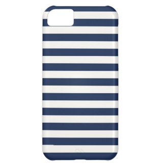 Navy Stripes iPhone 5C Case