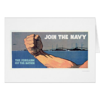 Navy - The Forearm of the Nation (US02142) Greeting Card