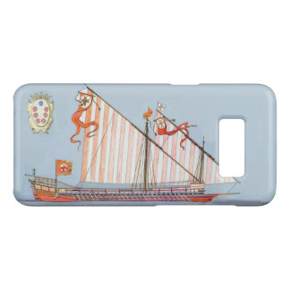 Navy Tuscany Medici,Blue Nautical Case-Mate Samsung Galaxy S8 Case