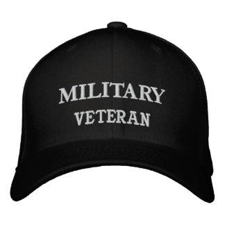 NAVY, VETERAN EMBROIDERED HAT