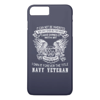 NAVY VETERAN iPhone 8 PLUS/7 PLUS CASE