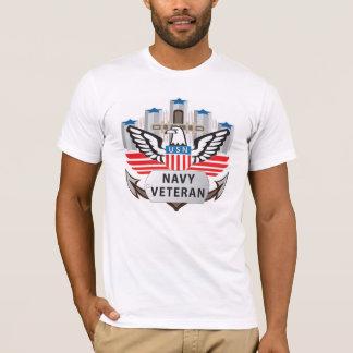 Navy Veteran Logo Shirt