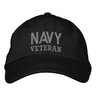Navy Veteran Military Baseball Cap