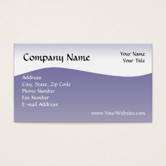 Navy Wave Business Card, Design Online Business Card