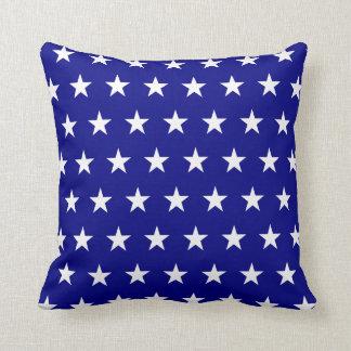 Navy White Stars Cushion