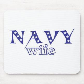 Navy Wife 2 Mousepad