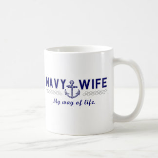 NAVY WIFE MUGS