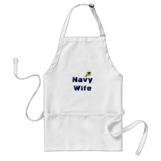 Navy Wife Seabee Apron