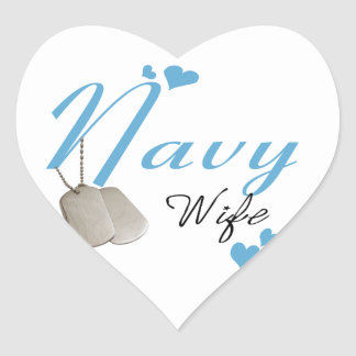 Navy Wife Stickers