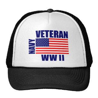 NAVY WW II Veteran Hats