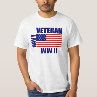 NAVY WW II Veteran T-Shirt