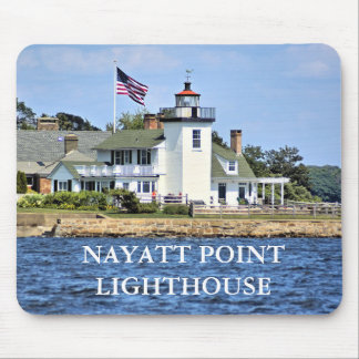 Nayatt Point Lighthouse, Rhode Island Mousepad