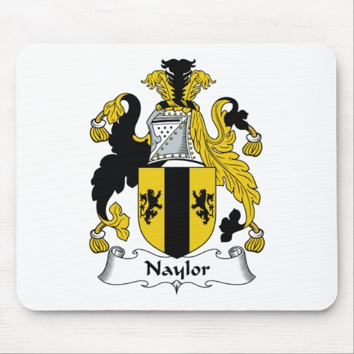 Naylor Family Crest Mouse Pad