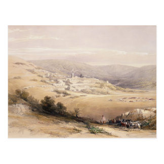Nazareth, April 28th 1839, plate 28 from Volume I Postcard