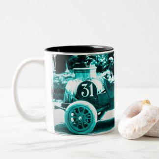 Nazzaro RK the 1913 Targa Florio Two-Tone Coffee Mug