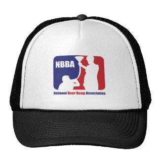 NBBA, Nationatl Beer Bong Association Mesh Hats