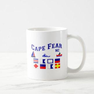 NC Cape Fear Signal Flags Coffee Mug