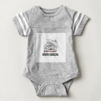 NC first in flight Baby Bodysuit