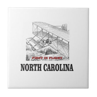 NC first in flight Ceramic Tile