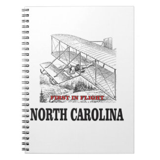 NC first in flight Notebook