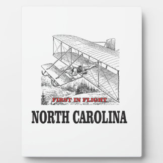 NC first in flight Plaque