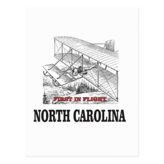 NC first in flight Postcard