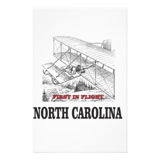 NC first in flight Stationery