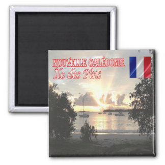 NC - New Caledonia - Isle of Pines - Sunset Magnet