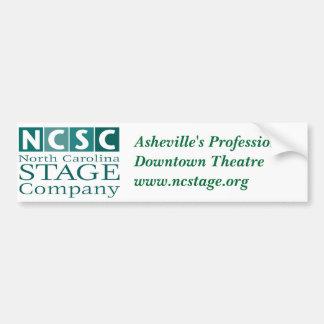 NC Stage Bumper Sticker