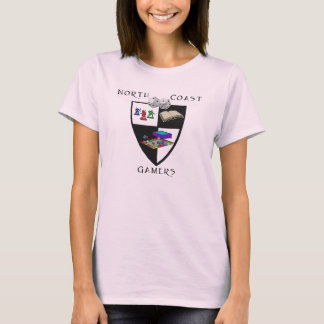 NCG Fitted Ladies Babydoll T-Shirt