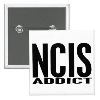 NCIS Addict Pinback Button
