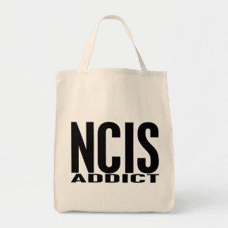 NCIS Addict Grocery Tote Bag