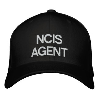 NCIS AGENT EMBROIDERED HAT