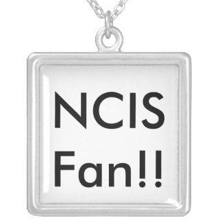 NCIS Fan!! Square Pendant Necklace