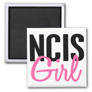 NCIS Girl 4 Square Magnet