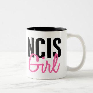 NCIS Girl 4 Two-Tone Mug